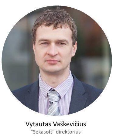 Sekasoft direktorius Vytautas Vaškevičius